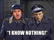 Colonel Klunk and Sergeant Schitz