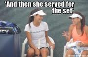 Sorana talking to VIP
